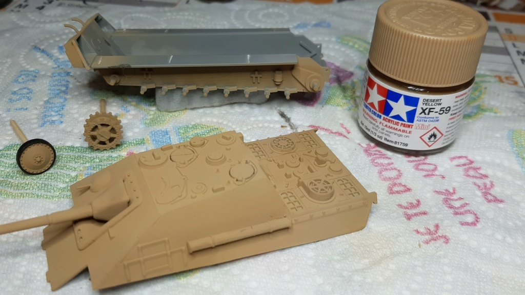 From the box - Jagdpanther ( Revell/ Matchbox ) 1/76° 1320