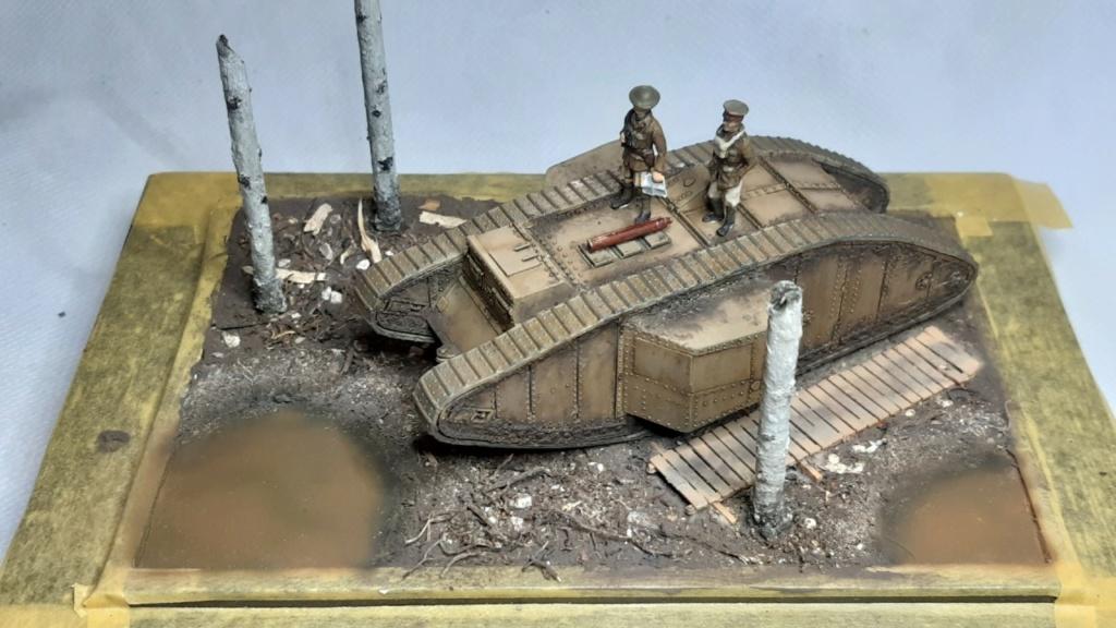 Fil rouge 2021 * Tank Mark II (T.S.F) Airfix 1/76° *** Terminé en pg 5 - Page 4 1515