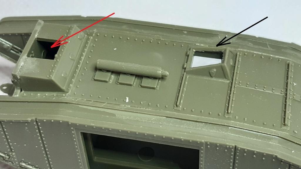 Fil rouge 2021 * Tank Mark II (T.S.F) Airfix 1/76° *** Terminé en pg 5 155