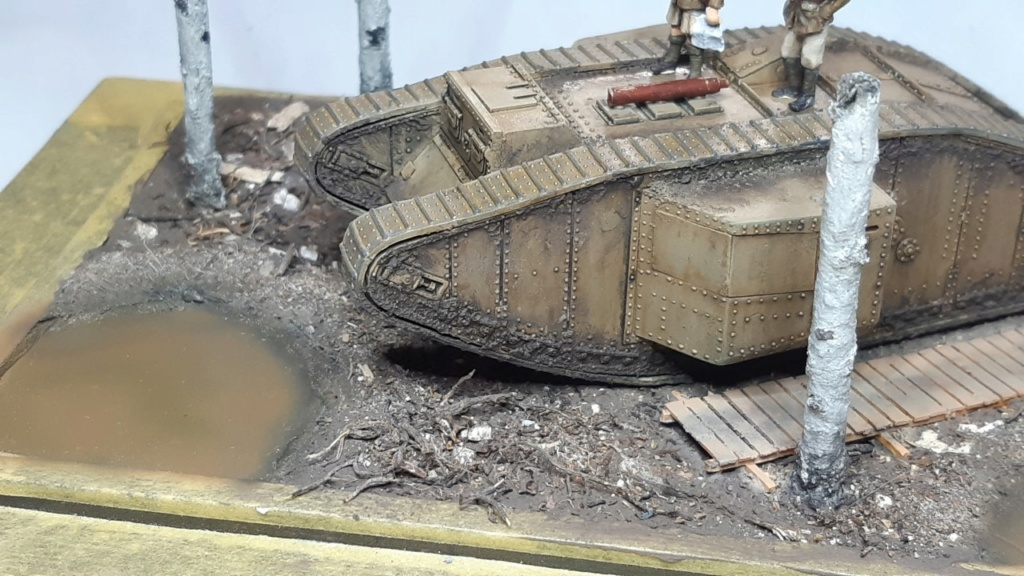 Fil rouge 2021 * Tank Mark II (T.S.F) Airfix 1/76° terminé en pg 5 - Page 4 1614
