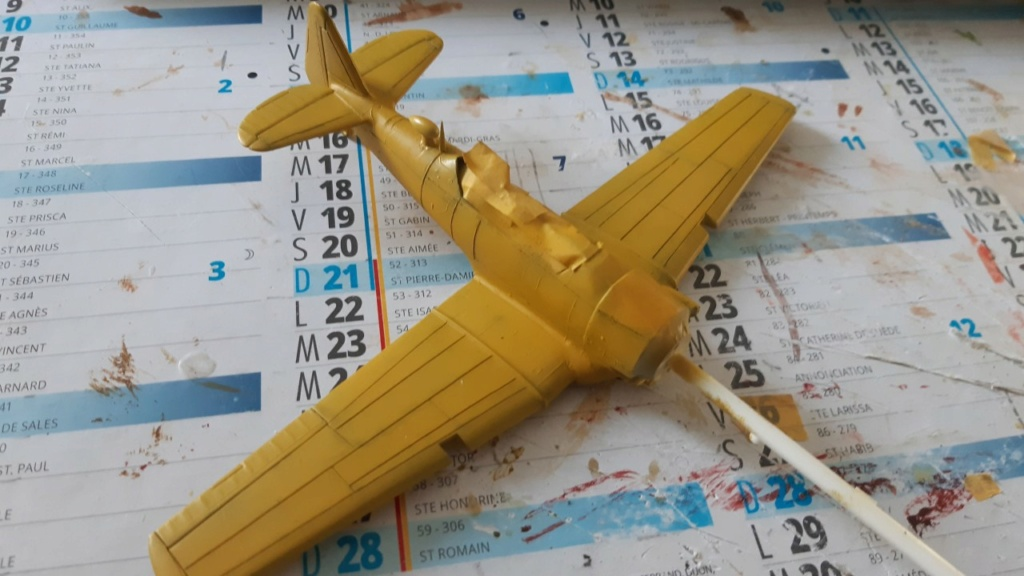 Fil rouge 2021 * T 6 texan Heller 1/72° - Page 2 1719