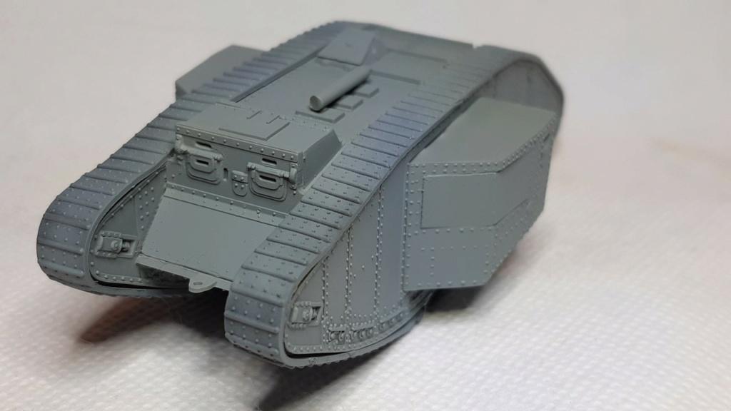 Fil rouge 2021 * Tank Mark II (T.S.F) Airfix 1/76° *** Terminé en pg 5 1815