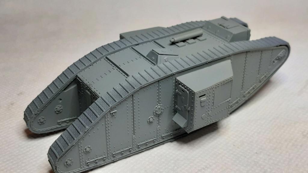 Fil rouge 2021 * Tank Mark II (T.S.F) Airfix 1/76° *** Terminé en pg 5 1913