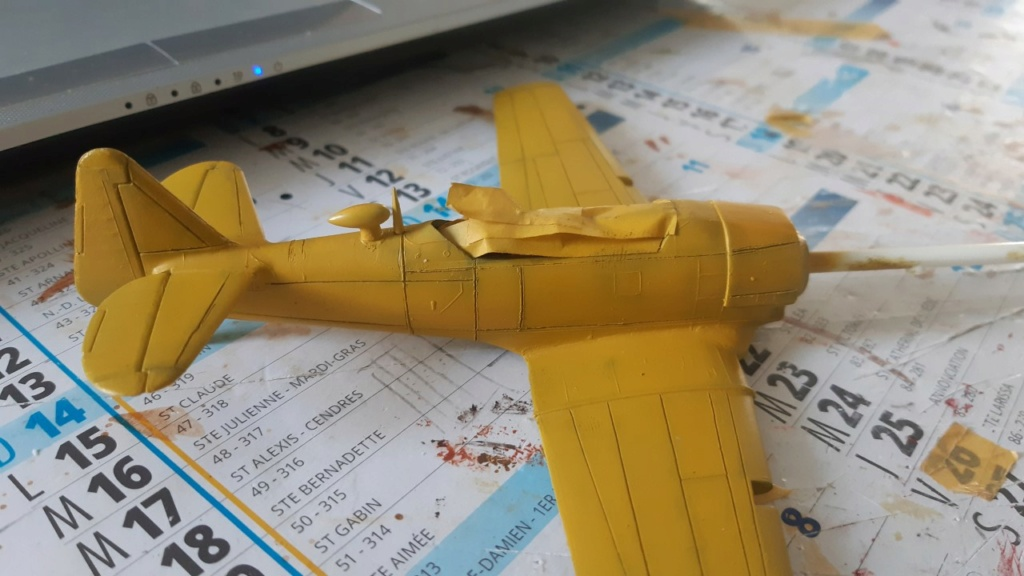 Fil rouge 2021 * T 6 texan Heller 1/72° - Page 2 1920