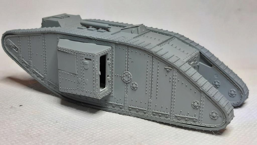 Fil rouge 2021 * Tank Mark II (T.S.F) Airfix 1/76° *** Terminé en pg 5 2012