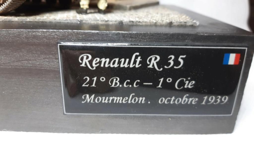 Fil rouge 2020 : Renault R 35 (Tamiya 1/35°) avec diorama *** Terminé en pg 5 - Page 5 230