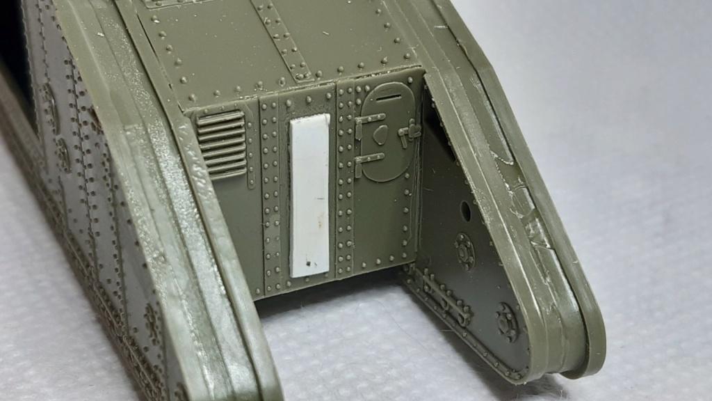 Fil rouge 2021 * Tank Mark II (T.S.F) Airfix 1/76° *** Terminé en pg 5 240
