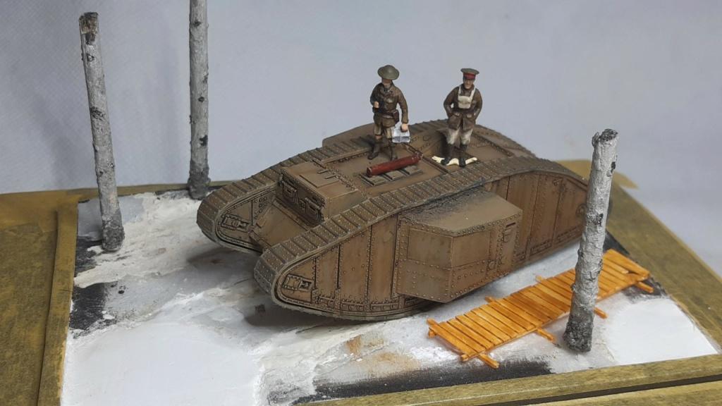 Fil rouge 2021 * Tank Mark II (T.S.F) Airfix 1/76° *** Terminé en pg 5 - Page 3 241