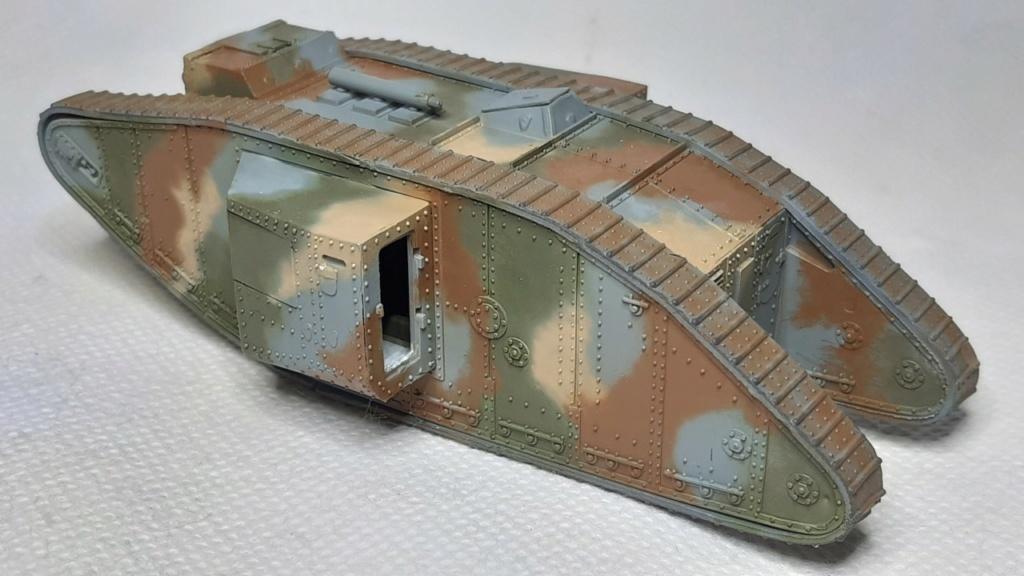 Fil rouge 2021 * Tank Mark II (T.S.F) Airfix 1/76° *** Terminé en pg 5 2512