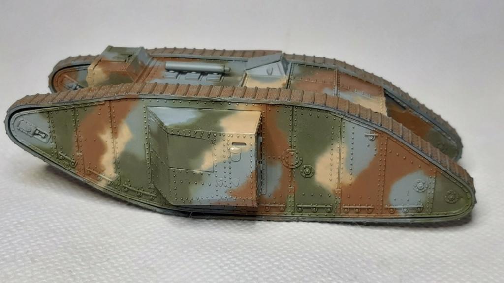 Fil rouge 2021 * Tank Mark II (T.S.F) Airfix 1/76° *** Terminé en pg 5 2613