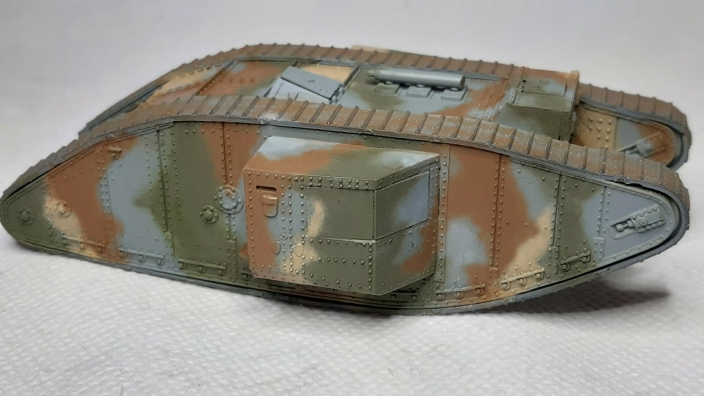 Fil rouge 2021 * Tank Mark II (T.S.F) Airfix 1/76° *** Terminé en pg 5 2910