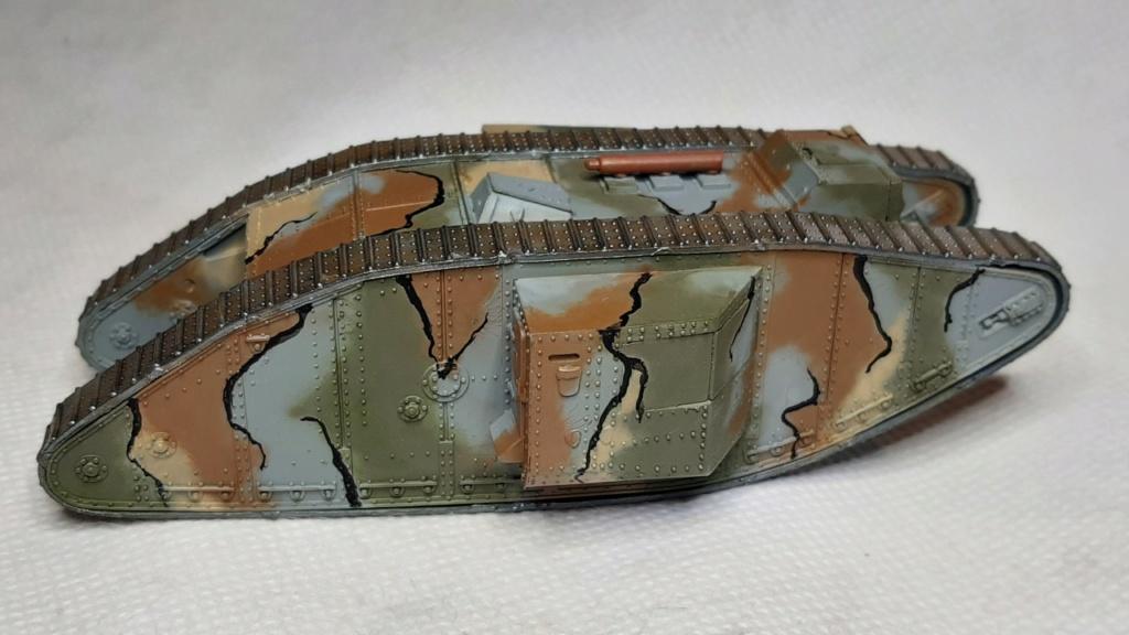 Fil rouge 2021 * Tank Mark II (T.S.F) Airfix 1/76° terminé en pg 5 - Page 2 3411
