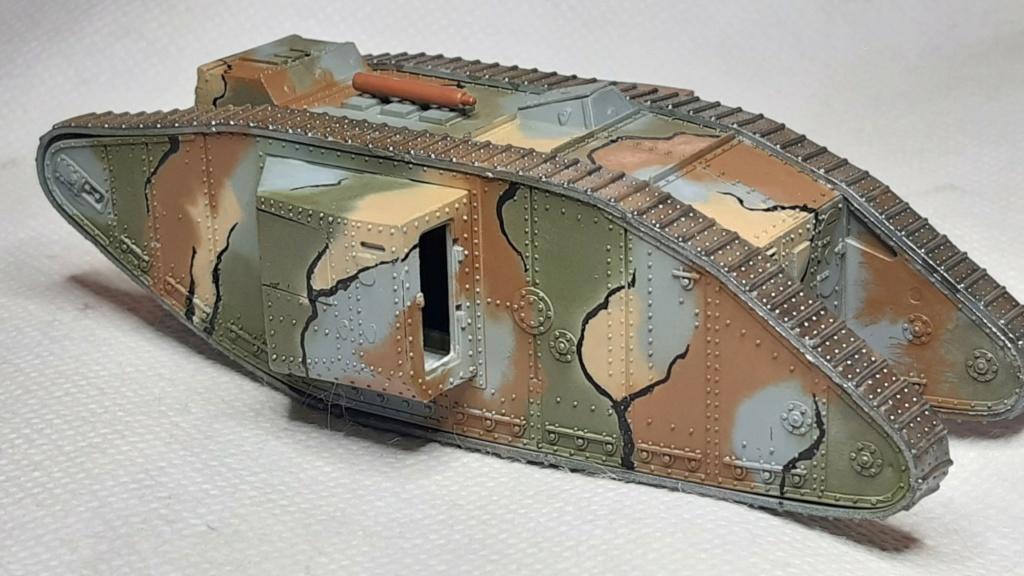 Fil rouge 2021 * Tank Mark II (T.S.F) Airfix 1/76° terminé en pg 5 - Page 2 3610
