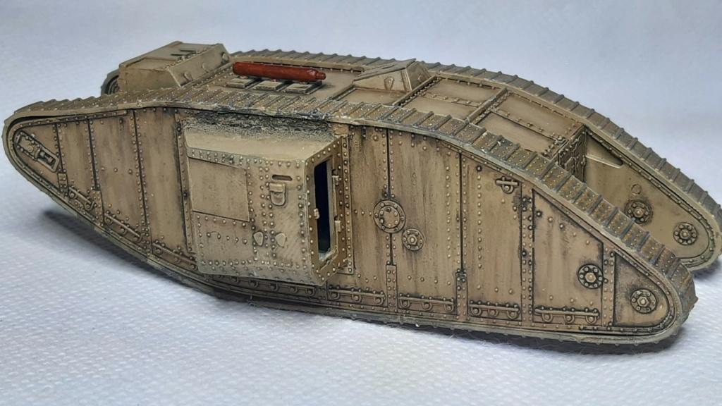 Fil rouge 2021 * Tank Mark II (T.S.F) Airfix 1/76° *** Terminé en pg 5 - Page 3 3910
