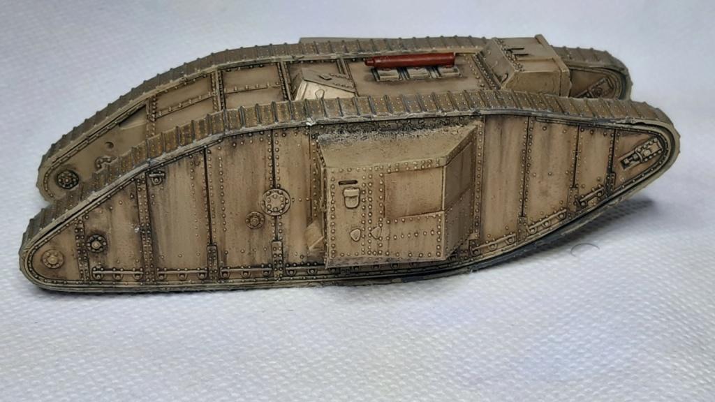 Fil rouge 2021 * Tank Mark II (T.S.F) Airfix 1/76° *** Terminé en pg 5 - Page 3 4210