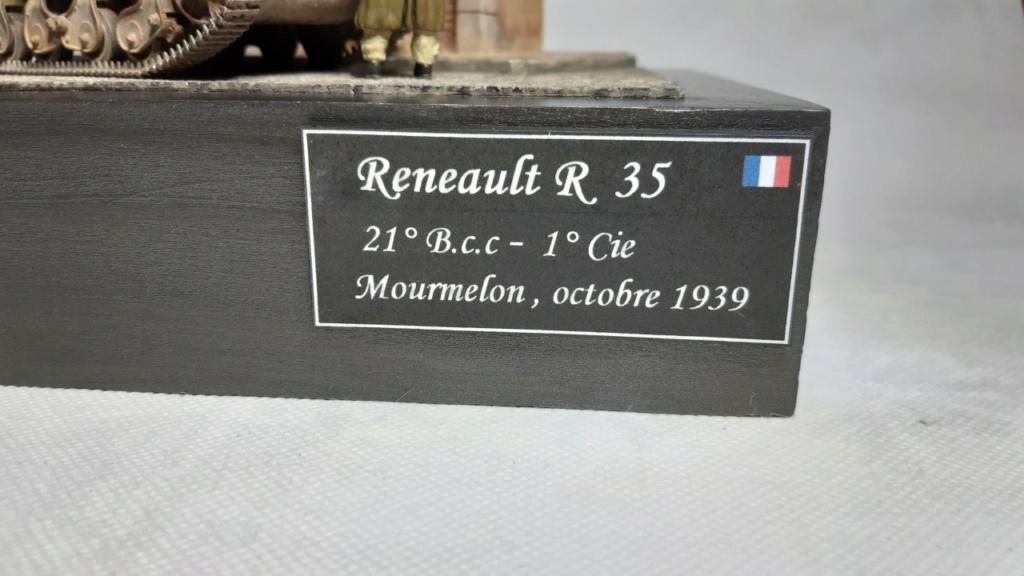 Fil rouge 2020 : Renault R 35 (Tamiya 1/35°) avec diorama *** Terminé en pg 5 - Page 5 424