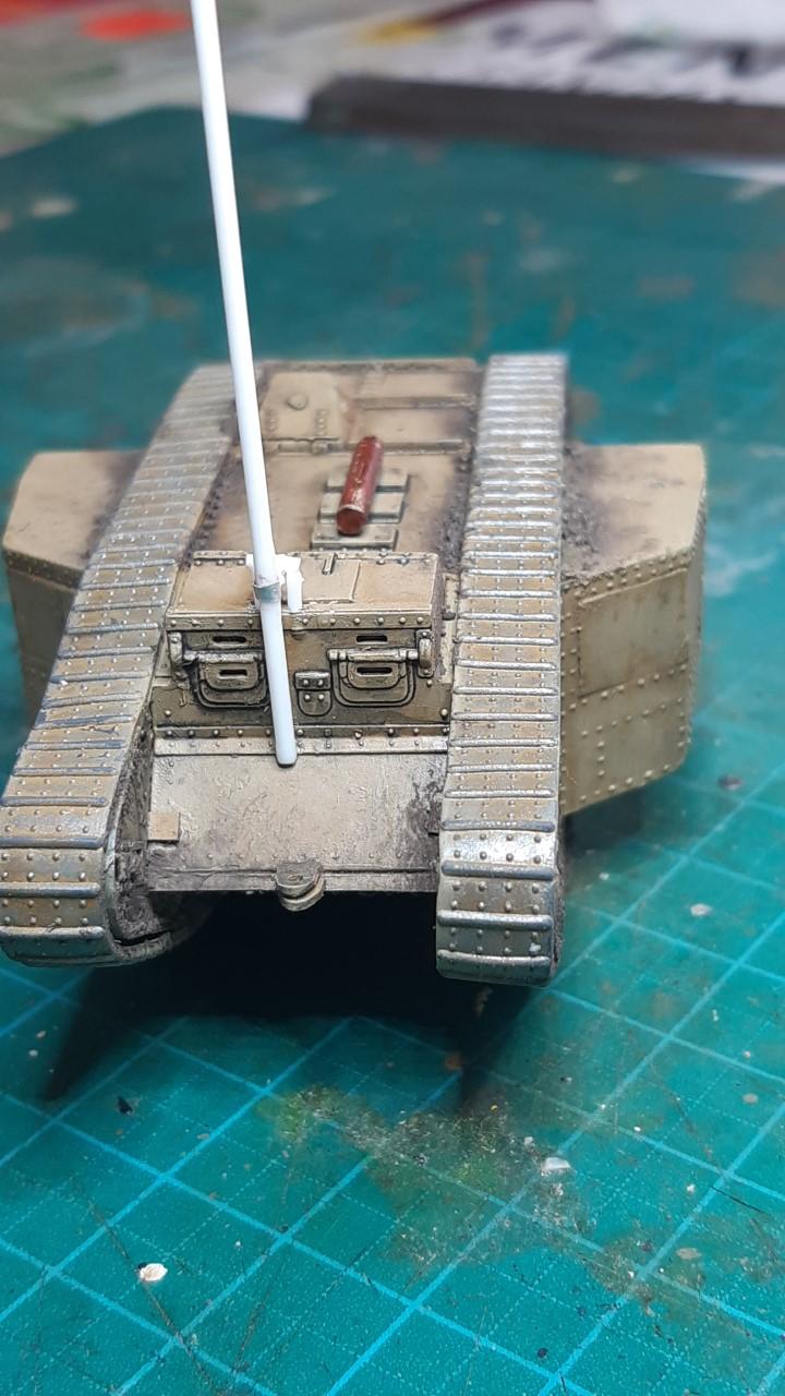 Fil rouge 2021 * Tank Mark II (T.S.F) Airfix 1/76° terminé en pg 5 - Page 4 435