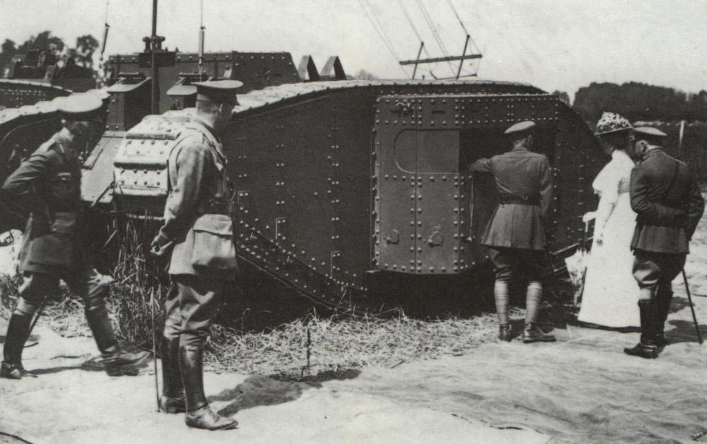 Fil rouge 2021 * Tank Mark II (T.S.F) Airfix 1/76° *** Terminé en pg 5 - Page 3 4610