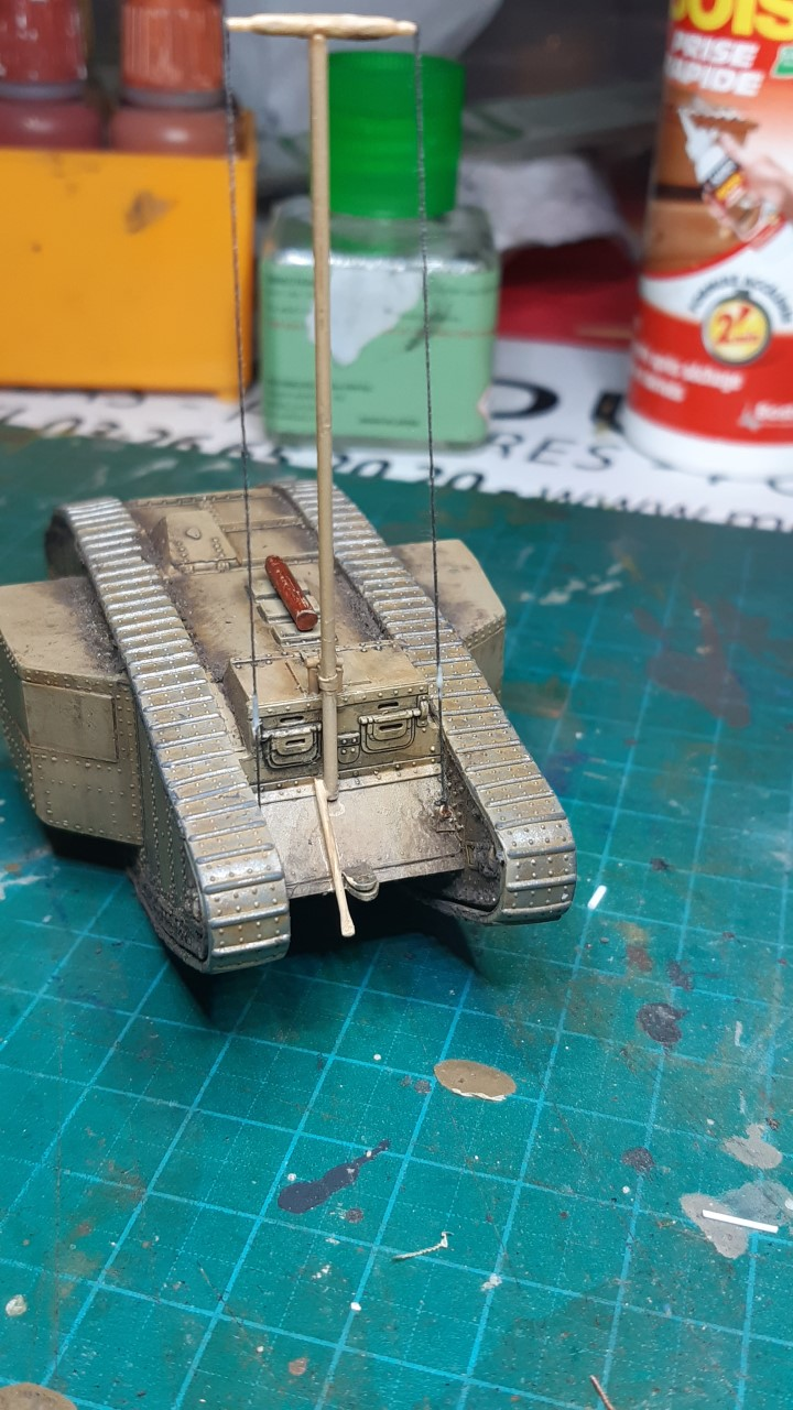 Fil rouge 2021 * Tank Mark II (T.S.F) Airfix 1/76° terminé en pg 5 - Page 4 628