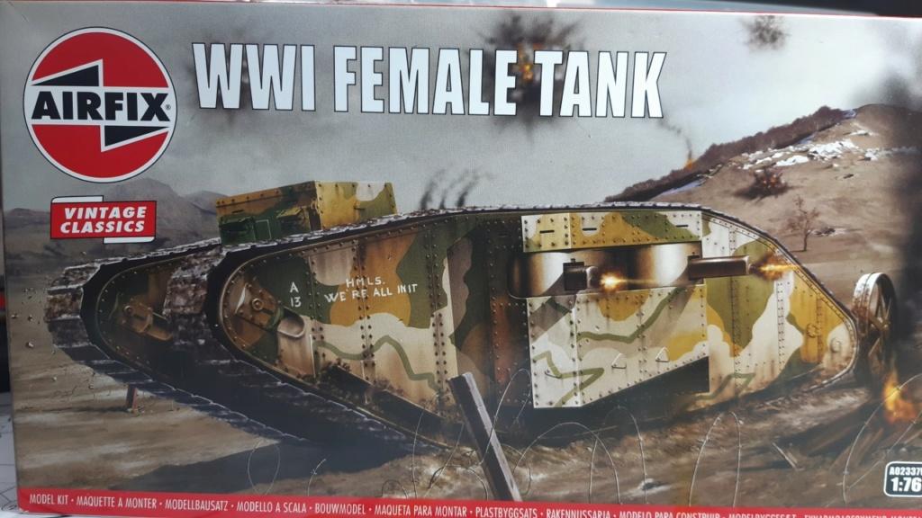 Fil rouge 2021 * Tank Mark II (T.S.F) Airfix 1/76° *** Terminé en pg 5 A17