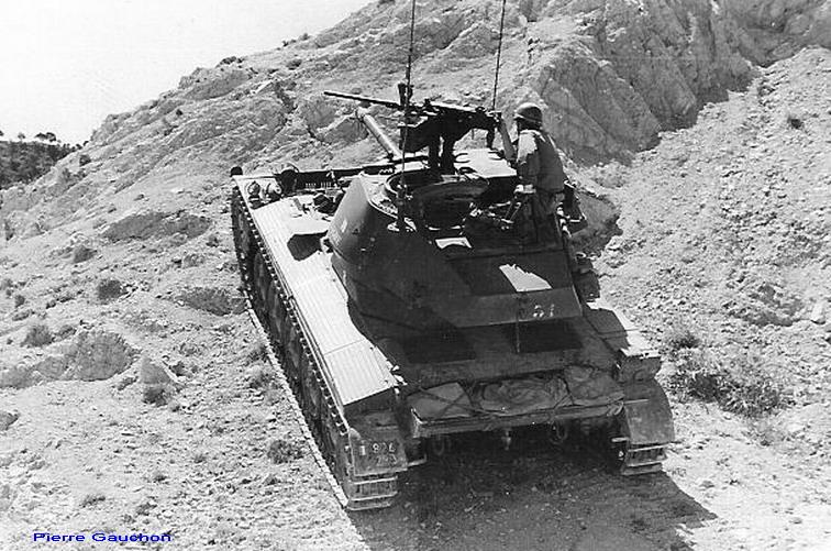 AMX 13 tourelle Chaffee (Takom 1/35°) terminé - Page 3 Bretag12
