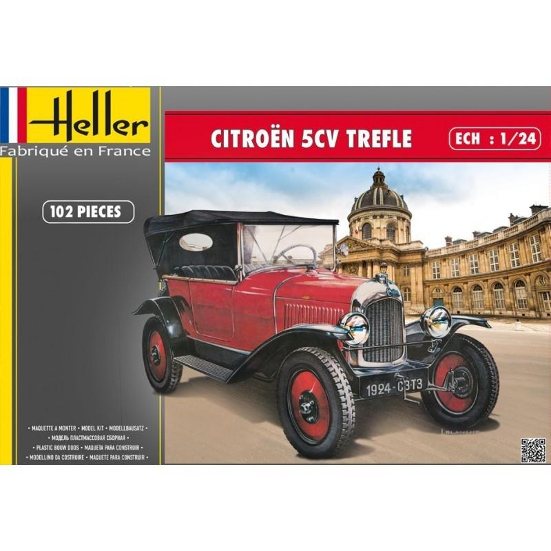 """Citroën """"trèfle"""" 5 cv (Heller 1/24°) Citroe10"""