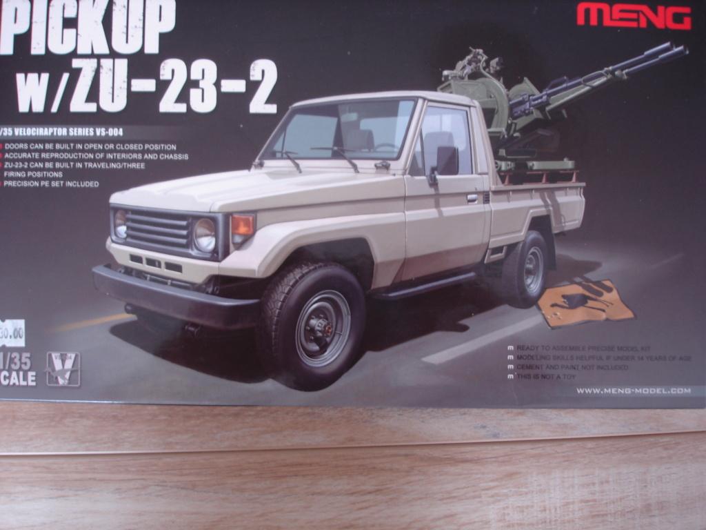 Pickup ZU 23/2 MENG au 1/35° Dsc08810