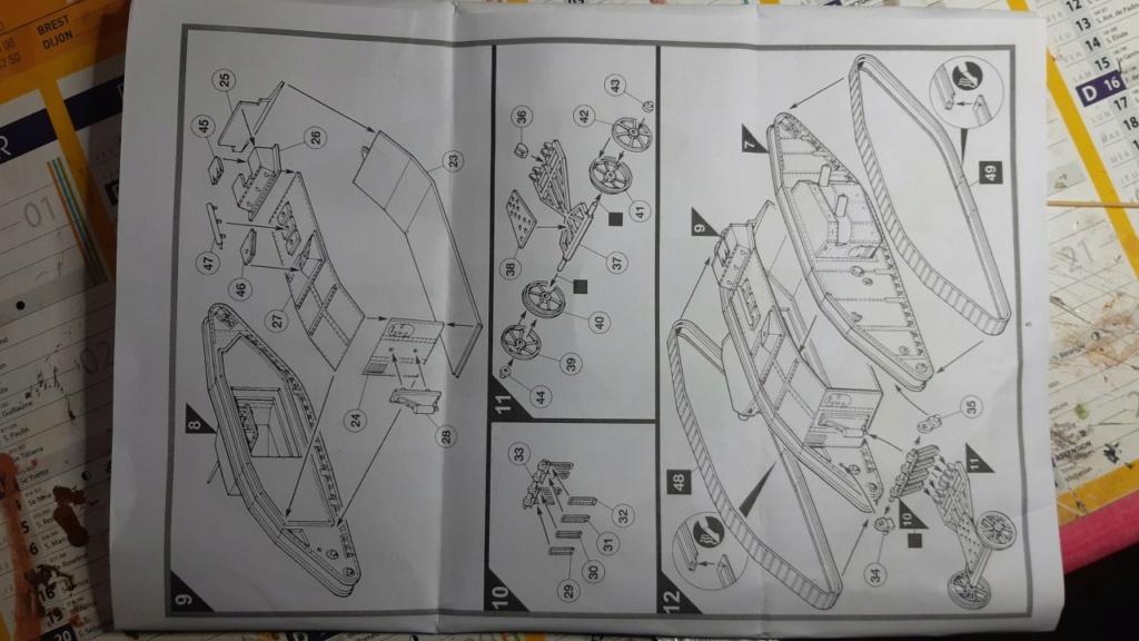 Fil rouge 2021 * Tank Mark II (T.S.F) Airfix 1/76° *** Terminé en pg 5 E11