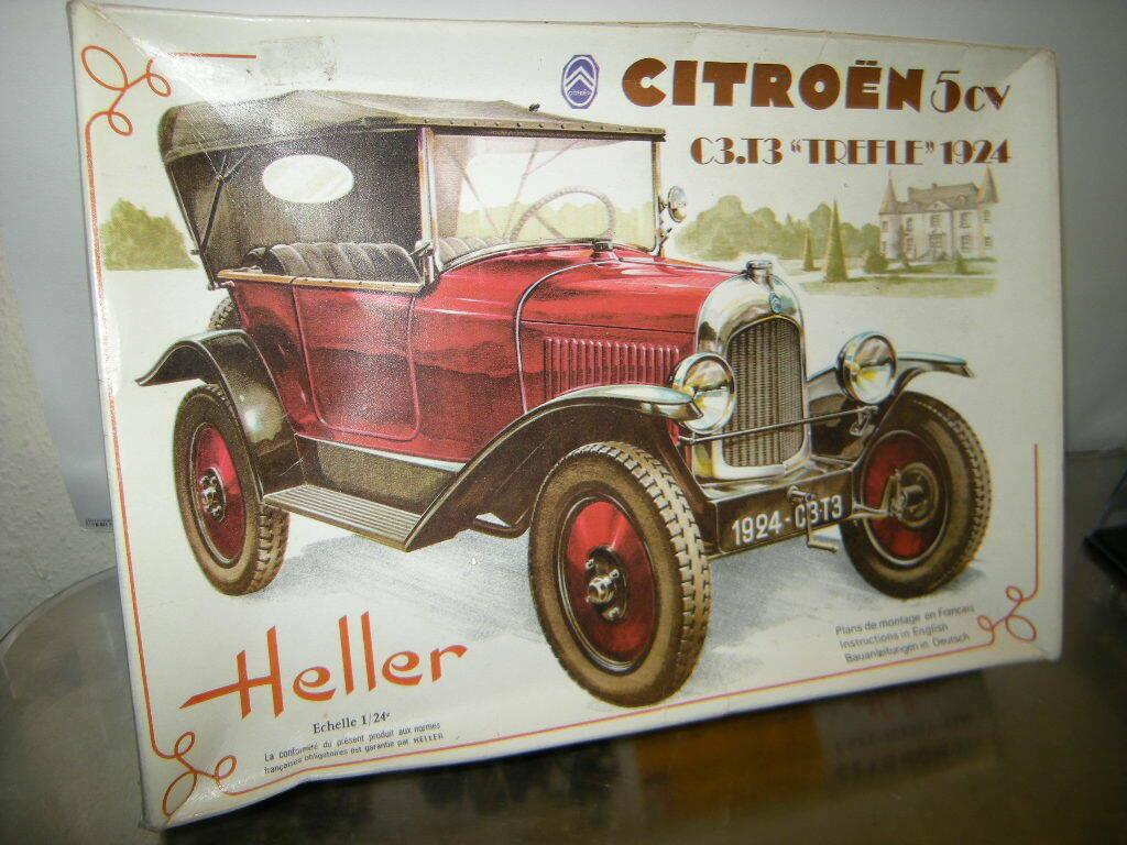 "Citroën ""trèfle"" 5 cv (Heller 1/24°) Heller10"