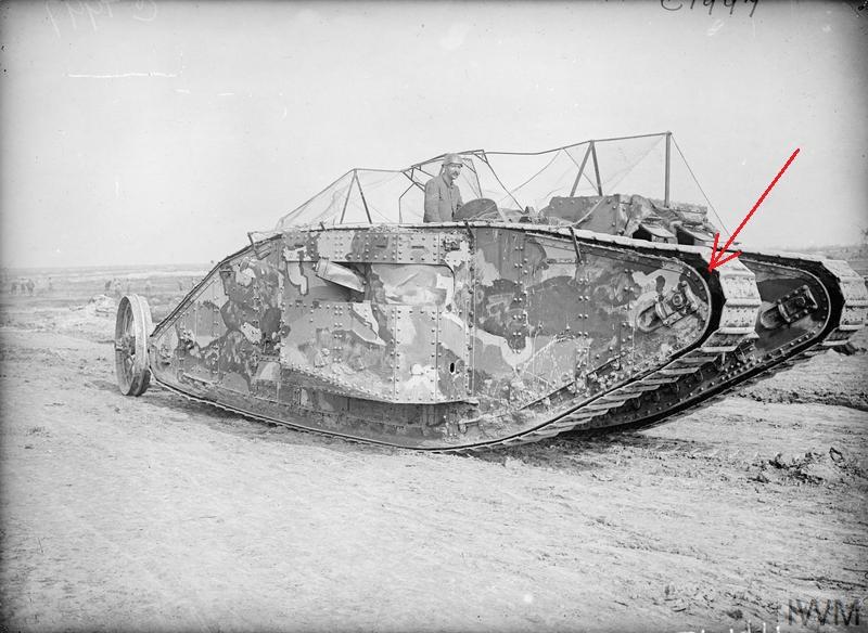 Fil rouge 2021 * Tank Mark II (T.S.F) Airfix 1/76° *** Terminé en pg 5 Large_10