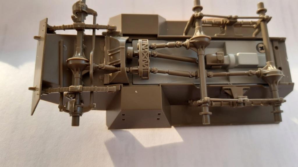 U.S M 20 Tamiya 1/48° (diorama terminé) M210