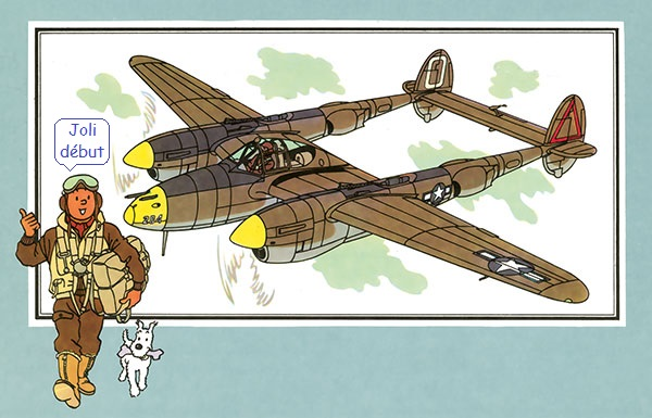 P-38 Arkansas express Minicraft 1/48e  - Page 4 P_3810