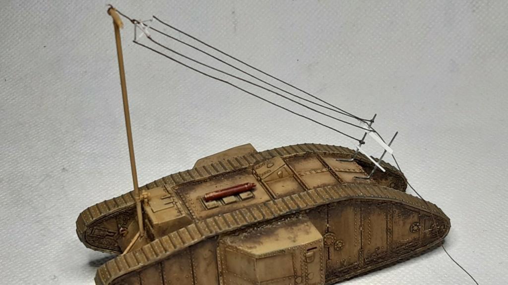 Fil rouge 2021 * Tank Mark II (T.S.F) Airfix 1/76° terminé en pg 5 - Page 5 Thumb184