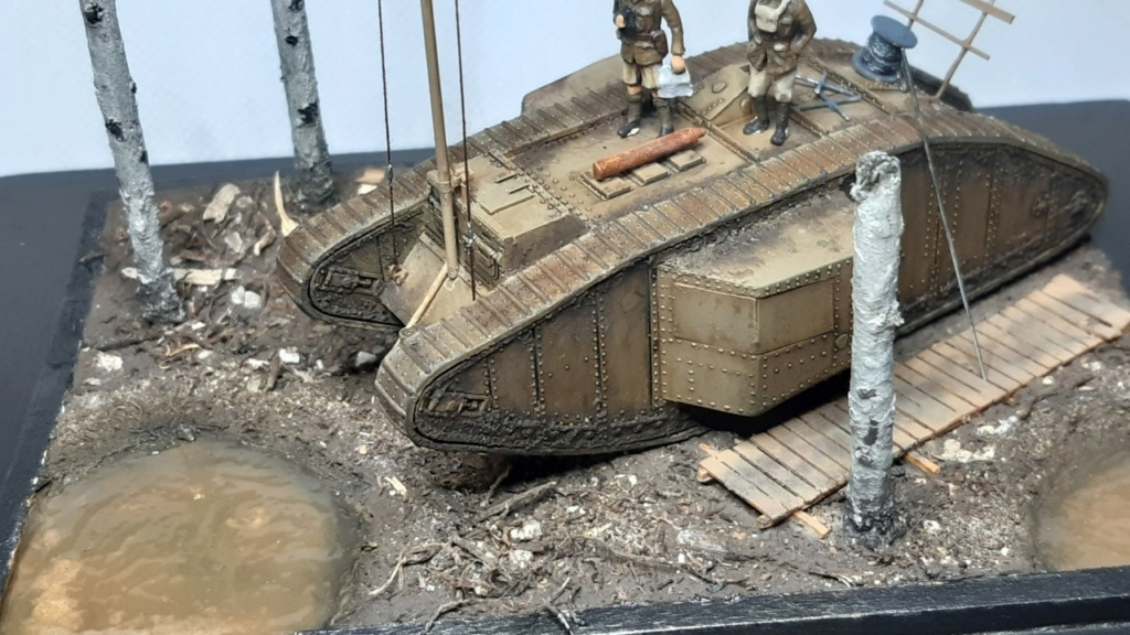 Fil rouge 2021 * Tank Mark II (T.S.F) Airfix 1/76° terminé en pg 5 - Page 5 Thumb185