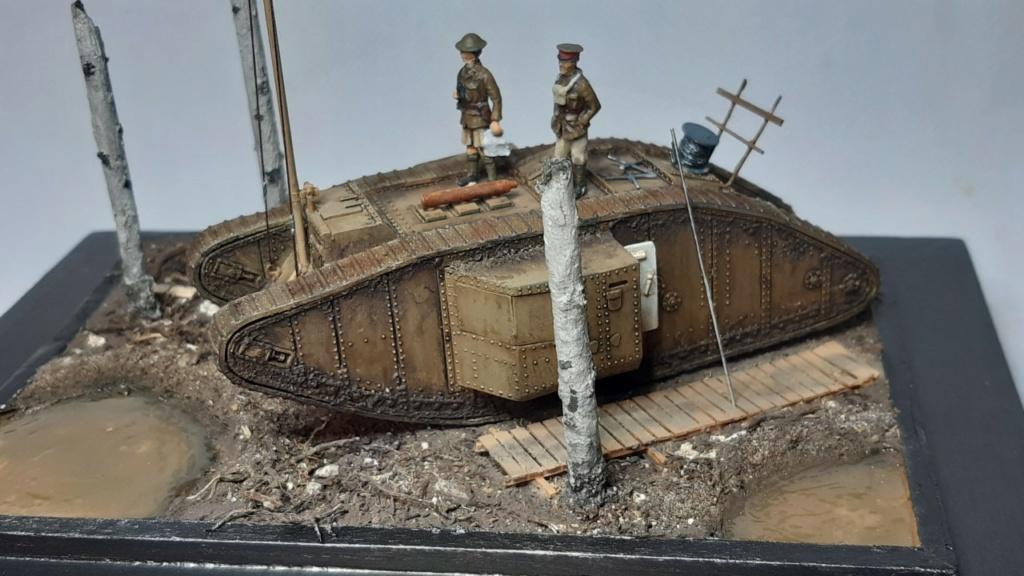 Fil rouge 2021 * Tank Mark II (T.S.F) Airfix 1/76° terminé en pg 5 - Page 5 Thumb186