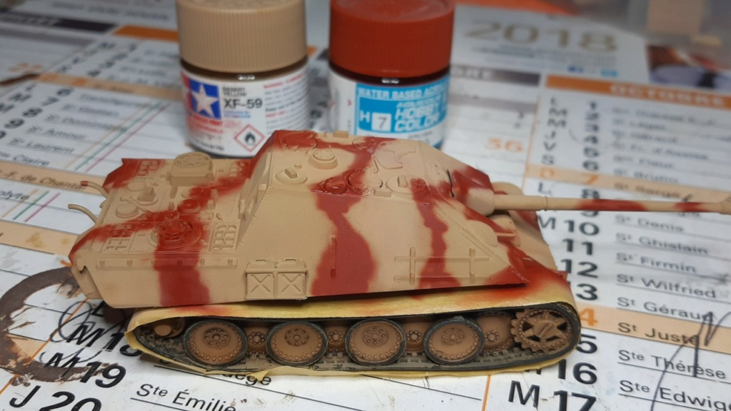 From the box - Jagdpanther  Revell / Matchbox 1/76° *** Terminé en pg 2 Thumbn64