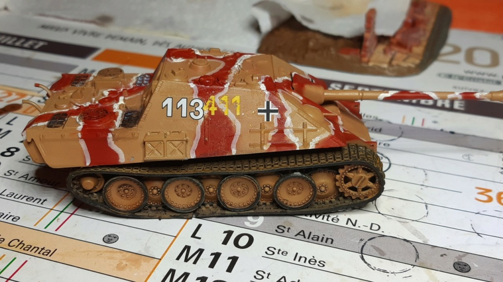 From the box - Jagdpanther  Revell / Matchbox 1/76° *** Terminé en pg 2 Thumbn67