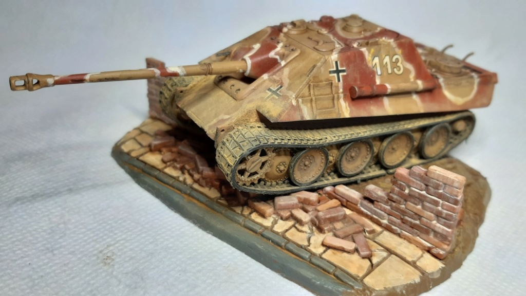 From the box - Jagdpanther  Revell / Matchbox 1/76° *** Terminé en pg 2 - Page 2 Thumbn74