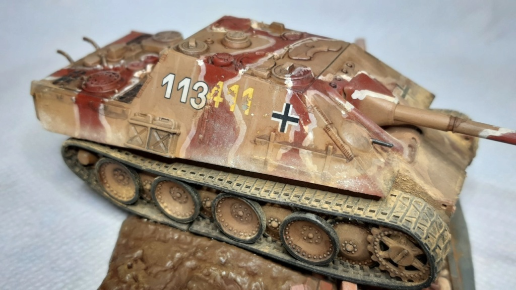 From the box - Jagdpanther  Revell / Matchbox 1/76° *** Terminé en pg 2 - Page 2 Thumbn76