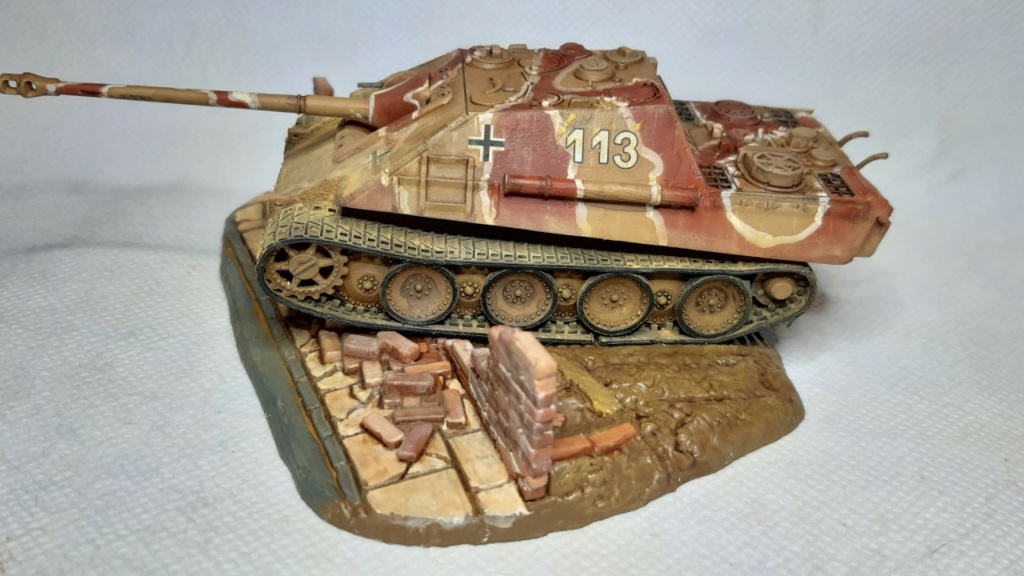 From the box - Jagdpanther  Revell / Matchbox 1/76° *** Terminé en pg 2 - Page 2 Thumbn78