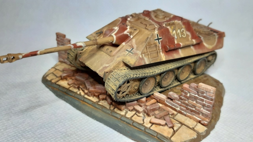 From the box - Jagdpanther  Revell / Matchbox 1/76° *** Terminé en pg 2 - Page 2 Thumbn79