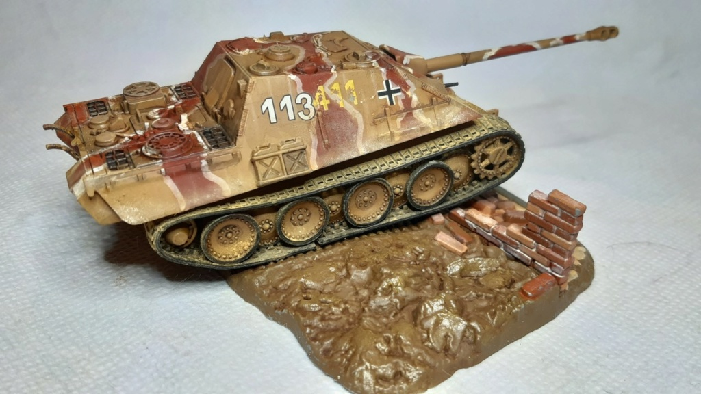 From the box - Jagdpanther  Revell / Matchbox 1/76° *** Terminé en pg 2 - Page 2 Thumbn80