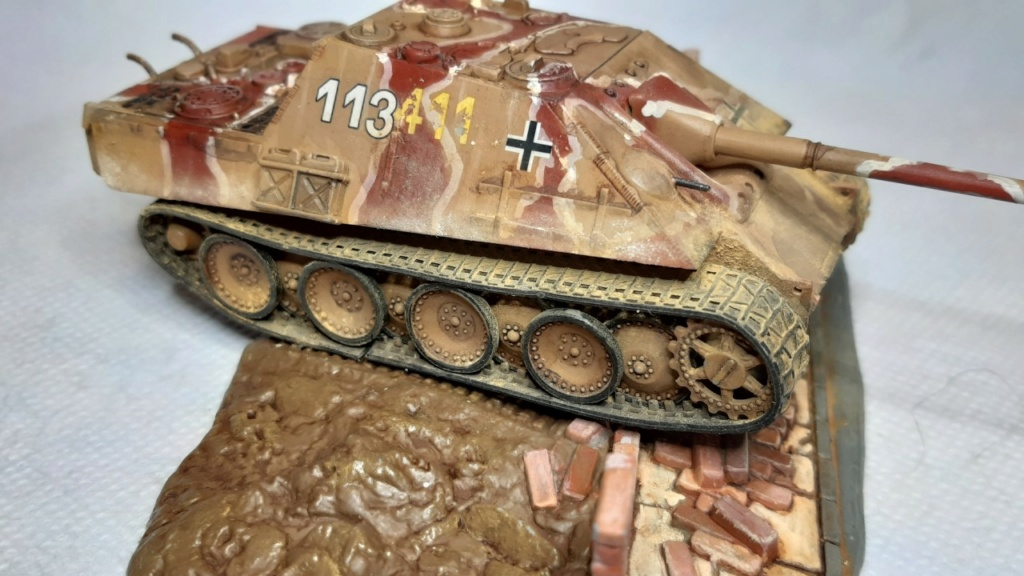 From the box - Jagdpanther  Revell / Matchbox 1/76° *** Terminé en pg 2 - Page 2 Thumbn81