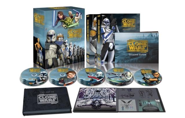 Clone Wars : L'intégrale de la série 15/10/13 81k9w310