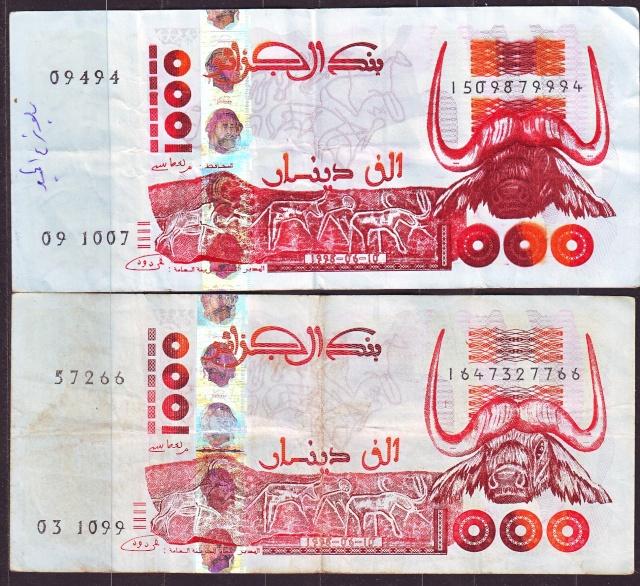 Billet de 1000 DA Ligue Arabe Sans_t10