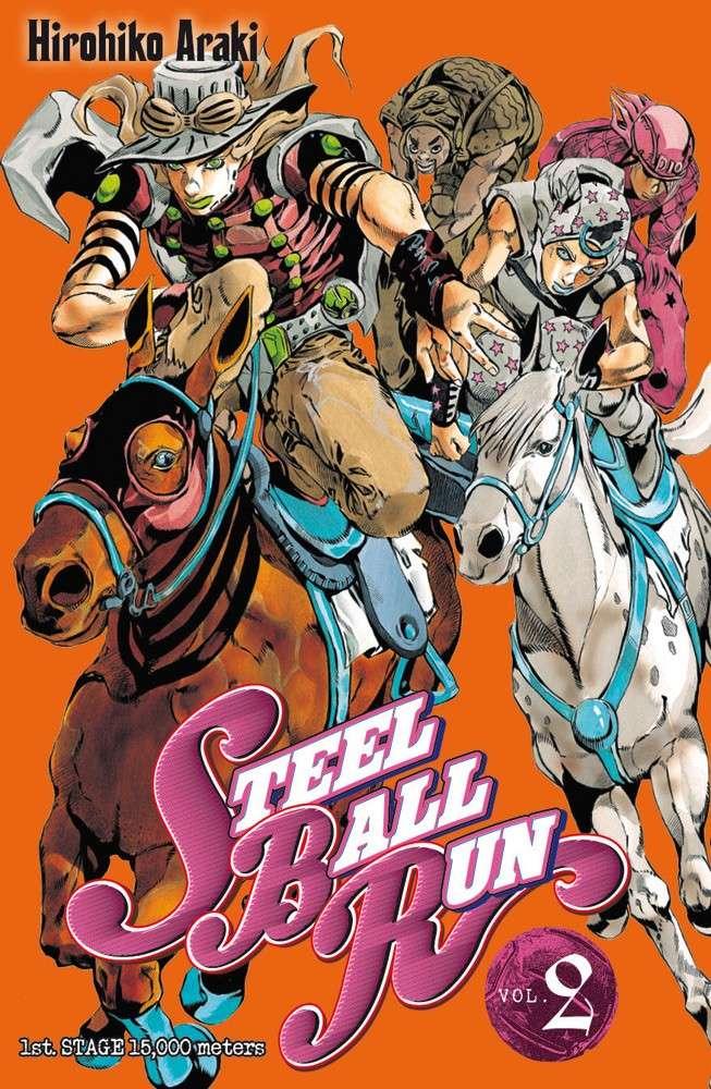 Steel Ball Run (JBA part 7) - Hirohiko Araki 97827510