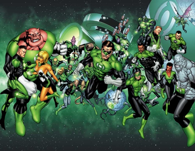 [DC] Green Lantern (Comics et films) Green-10