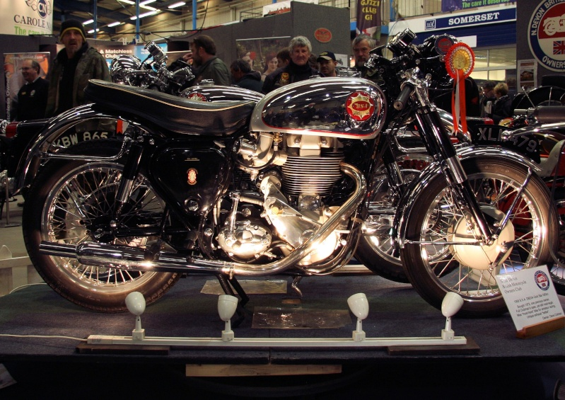 Shepton Mallet Bike Show.  Bsa_go10