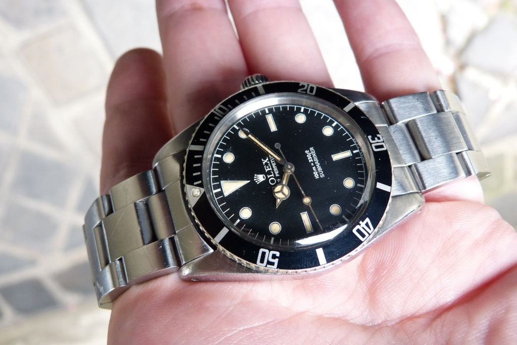 [Vendue] Rolex Submariner James Bond 5508 de 1958-1959 L1090316