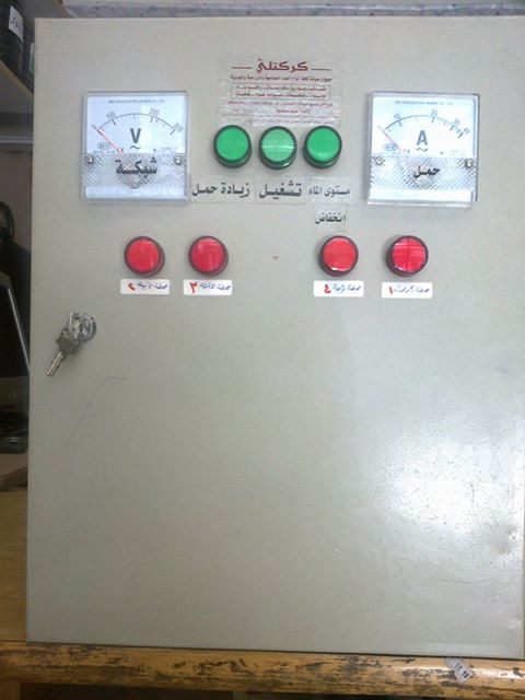 لوحة - لوحة التحكم الكهربائي الألي 55486310